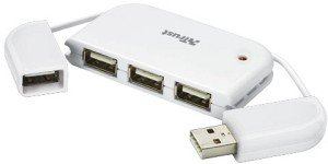 Trust 4-port Hub for Netbook, USB 2.0 (16226)