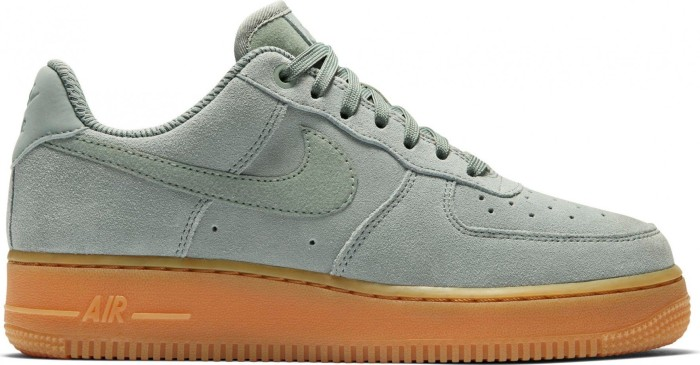 reputable site ebf19 a12f0 Nike Air Force 1 '07 SE Suede mica green/gum light brown/light ...