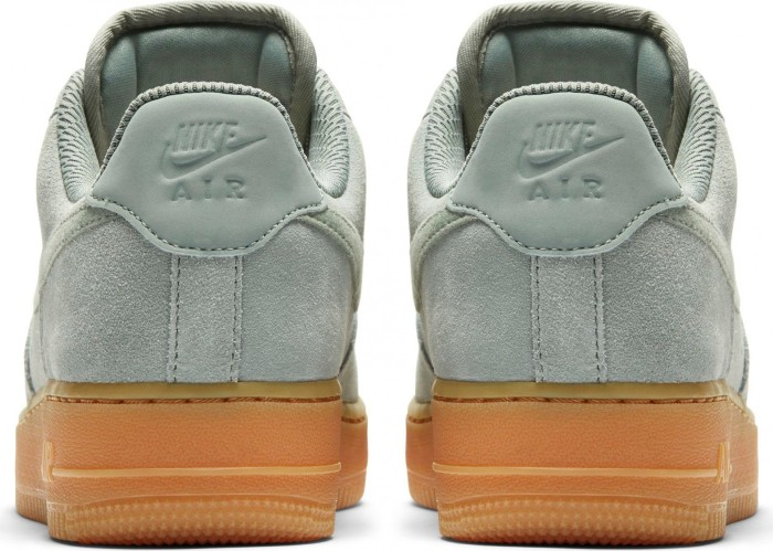 Nike Air Force 1 '07 SE Suede mica greengum light brown