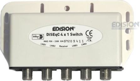 Edision DiSEqC 4/1 Umschalter -- via Amazon Partnerprogramm