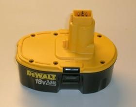 DeWalt DE9503 Werkzeug-Akku 18V, 2.6Ah, NiMH