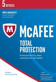 McAfee total Protection 2017, 5 User, ESD (multilingual) (Multi-Device)