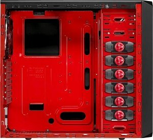 AeroCool RS-9 devil Red, red