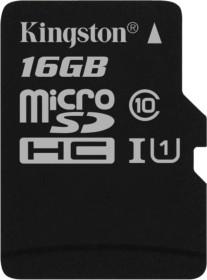 Kingston Canvas Select R80 microSDHC 16GB, UHS-I U1, Class 10 (SDCS/16GBSP)