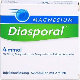 Magnesium Diasporal 4mmol Injektionslösung Ampullen, 5 Stück