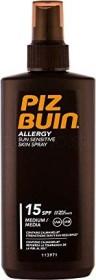 Piz Buin Allergy Sun Sensitive Skin Sun Spray LSF15, 200ml