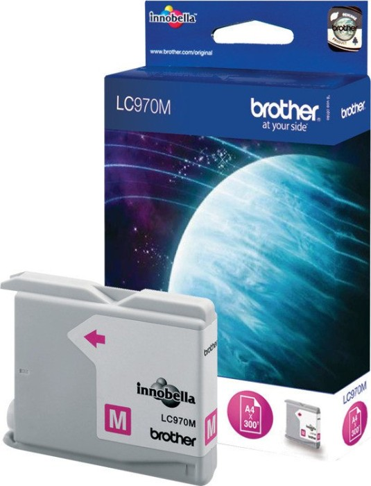 Brother LC970M Tinte magenta