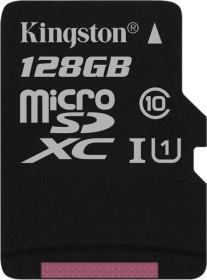 Kingston Canvas Select R80 microSDXC 128GB, UHS-I U1, Class 10 (SDCS/128GBSP)