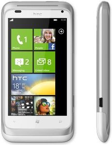 HTC Radar silver white