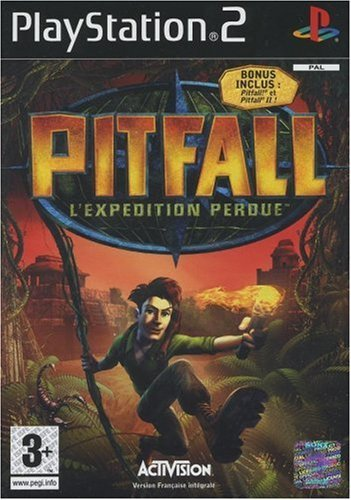 Pitfall: Die verlorene Expedition (niemiecki) (PS2) (PS2-110) -- via Amazon Partnerprogramm