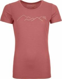 Ortovox 185 Merino Mountain Shirt kurzarm blush (Damen) (83027)