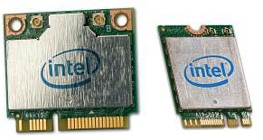 Intel wireless-N 7260, 2.4GHz WLAN, Bluetooth 4.0, PCIe mini Card (7260.HMWBNWB)