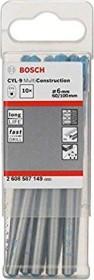 Bosch Professional CYL-9 MultiConstruction Mehrzweckbohrer 6x60x100mm, 10er-Pack (2608587149)