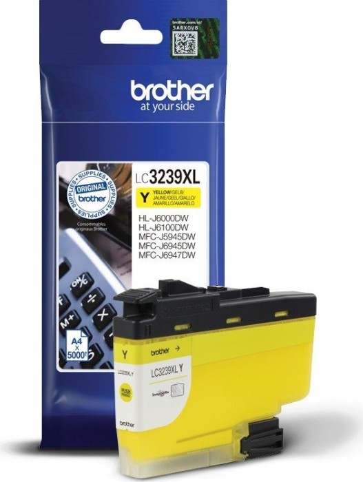 Brother ink LC3239XLY yellow