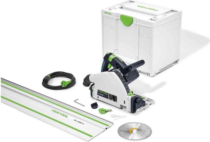Festool TS 55 FEBQ-Plus-FS Elektro-Tauchsäge inkl. Koffer + Zubehör (577010)