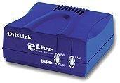 OvisLink eLive P-101U print server, USB 1.1