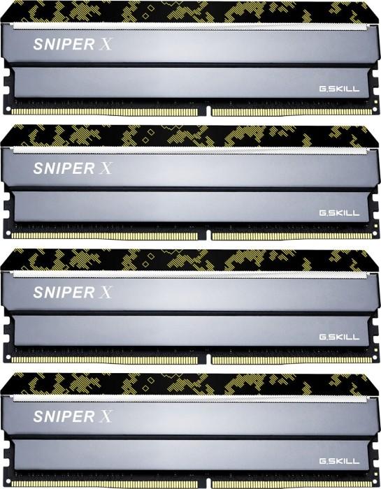G.Skill SniperX Digital Camouflage DIMM Kit 64GB, DDR4-3600, CL19-20-20-40 (F4-3600C19Q-64GSXKB)