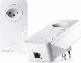 devolo Magic 2 LAN Starter Kit, G.hn, RJ-45, 2er-Pack, CH-Version (8263)
