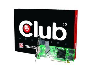 Club 3D Radeon 7000, 32MB DDR, VGA, DVI, TV-out, AGP (CGA-7032DTVD)