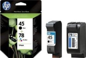 HP Printhead with ink 45+78 black/tricolour (SA308AE)