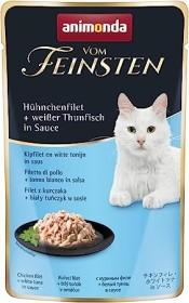 animonda Vom Feinsten Adult Hühnchenfilet und weißer Thunfisch in Sauce 900g (18x50g) (83691#18)