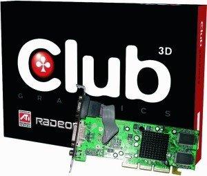 Club 3D Radeon 7000, 64MB DDR, VGA, DVI, TV-out, AGP (CGA-7064DTVD)