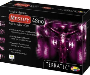 TerraTec Mystify 4800SE, GeForce4 4400 8X, 128MB DDR, DVI, ViVo, AGP (7080) -- © TerraTec Electronic GmbH