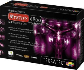 TerraTec Mystify 4800SE Gamers Edition, GeForce4 4400 8X, 128MB DDR, DVI, ViVo, Spielebundle, AGP (7090) -- © TerraTec Electronic GmbH