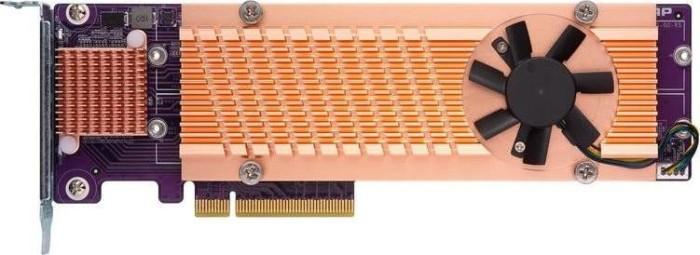 QNAP QM2 Expansion Card, 4x M.2 PCIe, PCIe 3.0 x8 (QM2-4P-384/QM2-4P-384A)