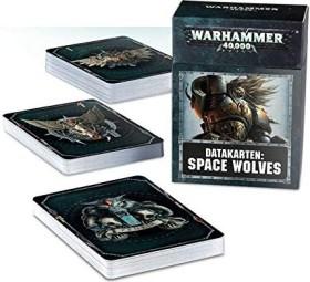 Games Workshop Warhammer 40.000 - Datakarten: Space Wolves (DE) (04220101011)