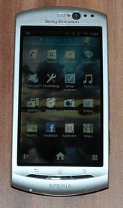 Sony Ericsson Xperia neo V silber -- http://bepixelung.org/19468