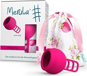 Merula Cup menstrual cup strawberry