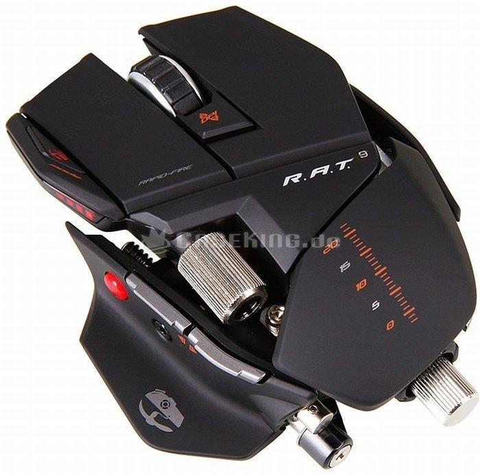 MadCatz Cyborg R.A.T 9 Gaming Mouse, USB (CCB437090002)