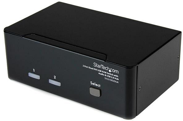 StarTech SV231DD2DUA, 2-way