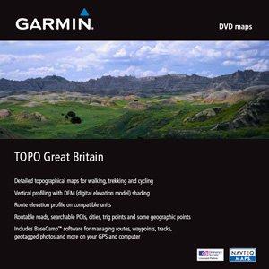 Garmin: Digitale Karten auf DVD - Topografische Karte Großbritannien (deutsch) (PC) (010-10730-00)