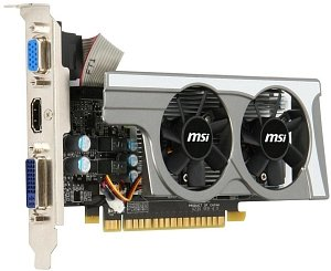 MSI N430GT-MD1GD3/OC/LP, GeForce GT 430, 1GB DDR3, VGA, DVI, HDMI (V230-002R)