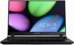 Gigabyte Aero 17 WB-7UK1130SH, Core i7-10750H, 16GB RAM, 512GB SSD, UK