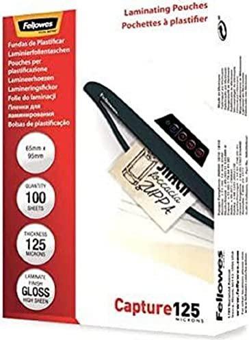 Fellowes Laminierfolie 65x95mm, 2x 125 micron, glänzend, 100 Stück (53067) -- via Amazon Partnerprogramm