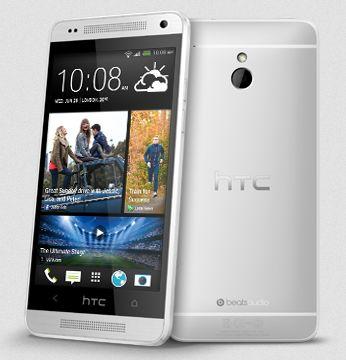 HTC One mini with branding