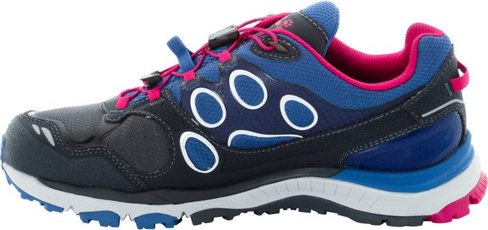 Jack Wolfskin Trail Excite Tex Low W Size 4, Color blau