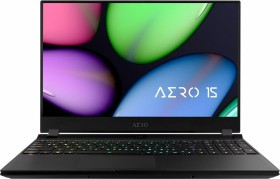 Gigabyte Aero 15 XB-7UK1130SH schwarz, Core i7-10750H, 16GB RAM, 512GB SSD, UK