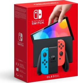 Nintendo Switch OLED schwarz/blau/rot (verschiedene Bundles)