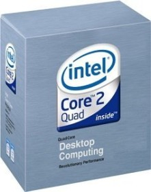 Intel Core 2 Quad Q6600 105W, 4x 2.40GHz, boxed (BX80562Q6600)