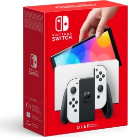 Nintendo Switch OLED schwarz/weiß (verschiedene Bundles)