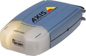 Axis 5550 print server, parallel/USB