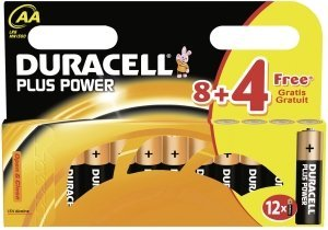 Duracell Plus Mignon AA, 12er-Pack (MN1500B12)
