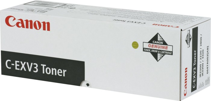 Canon C-EXV3 Toner black (6647A002) -- via Amazon Partnerprogramm