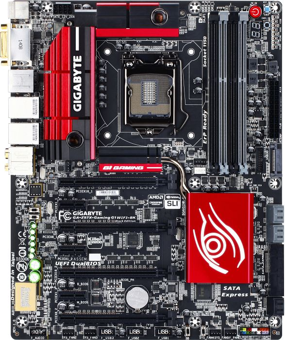 Gigabyte GA-Z97X-Gaming G1 WIFI-BK Black Edition