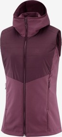 Salomon Outspeed Insulated Vest Jacke winetasting (Damen) (C13921)