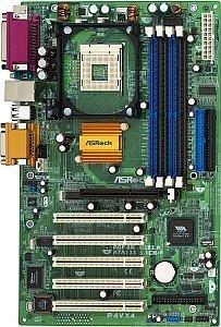 ASRock P4VX4, P4X400 (PC-2700 DDR)